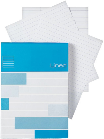 Alvin Saray Lined Note Pad 5.8 x 8.3inches 80 Sheets