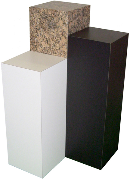 White Laminate Pedestal