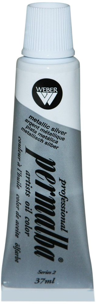Professional Permalba Metallic Silver: 37ml Tube