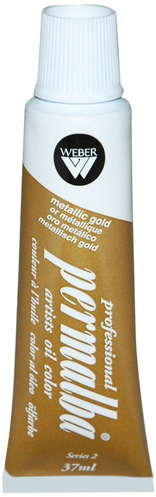Professional Permalba Metallic Gold: 37ml Tube