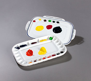 Mijello Dual Airtight Peel-Off Palette: Model # 92-AP3025