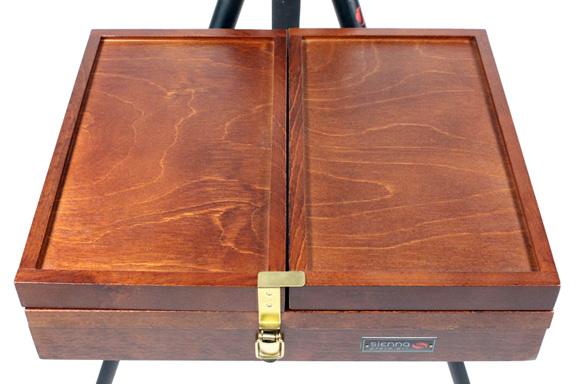 Sienna Supply Palette Box For Artists Plein Air By