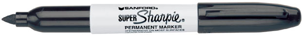 Sanford® Super Sharpie® Bold Point: Black