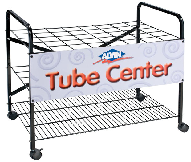 Alvin® Empty Rack For Plastic Tubes