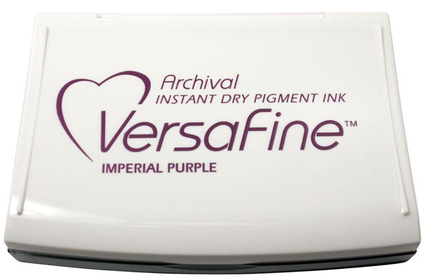 VersaFine™ Fast-Drying Pigment Ink Full Size Pad Imperial Purple
