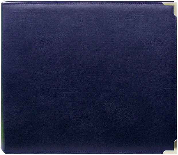 "Pioneer 12"" X 12"" 3-Ring Scrapbook Binder: Album, Navy Oxford"