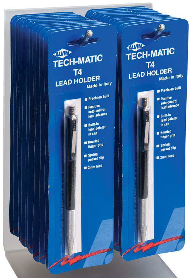 Alvin Tech-Matic Lead Holder Display