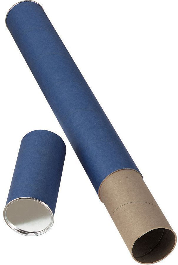 Alvin T413-43 Fiberboard Mailing Tube: 43 x 2.5 Inches, Blue
