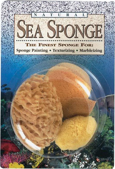 Hydra® Natural Sea Sponge Variety Pack: Natural, Sponge