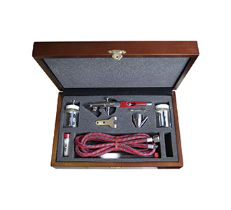 Paasche Airbrush Paasche Model VLST-3W Airbrush Set with Deluxe Wood Carrying Case