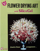 Activa Flower Drying Art With Silica Gel Book, Pack of 6