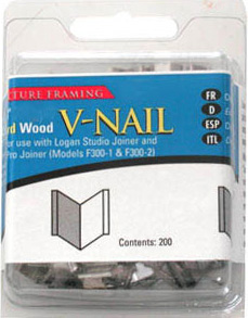 "Logan 1/2"" (12mm) V-Nail: Soft, 1 Pack of 200 V-Nails"