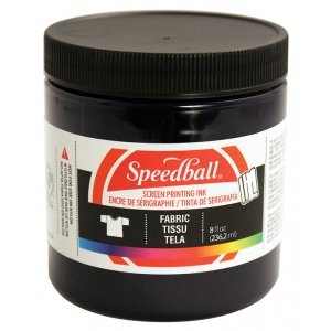 Speedball® 8 oz. Fabric Screen Printing Ink Denim: Blue, Jar, Fabric, 8 oz, Screen Printing, (model 4566), price per each