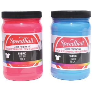 Speedball® Fabric Screen Printing Ink Magenta : Red/Pink, Jar, Fabric, 32 oz, Screen Printing