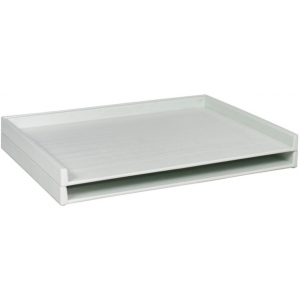 "Safco Giant Stack Tray: 2"" x 42 1/2"" x 32 1/2, Pack of 2"