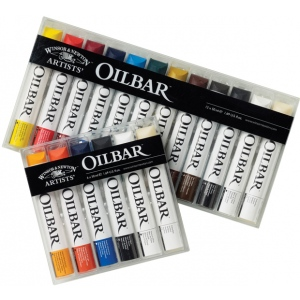 Winsor & Newton™ Artists' Oilbar 6-Color Set: Multi, Stick, Oil, (model 1690001), price per set