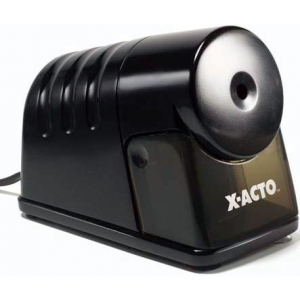 X-Acto® PowerHouse® Heavy-Duty Commercial Grade Electric Pencil Sharpener Black: Black/Gray, One, Plastic, Electric