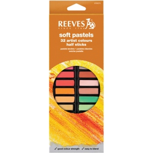 Reeves™ Soft Pastels 32-Color Set: Multi, (model 8790275), price per set