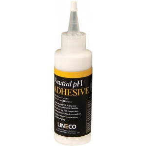Lineco® Neutral pH Liquid Adhesive: Bottle, 4 oz, (model 9011007), price per each