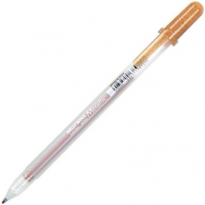 Gelly Roll® Copper Metallic Gel Pen: Metallic, Gel, 1mm, (model 38950), price per each