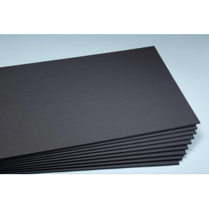 "Elmer's® 30"" x 40"" x 1/2"" Thick Foam Board Black 25bx: Black/Gray, Sheet, 25 Sheets, 30"" x 40"", Foam Board, (model 90301), price per 25 Sheets box"