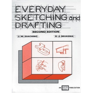 Generic Everyday Sketching and Drafting Second Edition by Beukema and Giachino: Drawing and Sketching, (model 9763), price per each