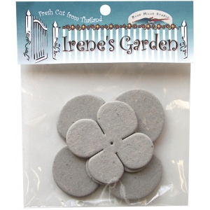 Blue Hills Studio™ Irene's Garden™ Chipboard Die-Cut Stack Pack Set F: Black/Gray, Chipboard, 55 mm - 62 mm, 75 mm - 80 mm, Dimensional, (model BHS45), price per pack