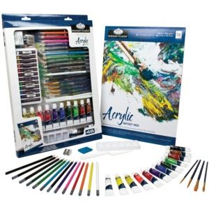 Royal & Langnickel Deluxe Acrylic Mixed Media Art Set
