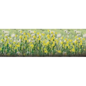 "Wee Scapes™ Architectural Model Daisies: Yellow, 150 sq in, Poly Fiber, Turf, 8-Pack, 1/2"", Flowers, (model WS00357), price per 8-Pack"