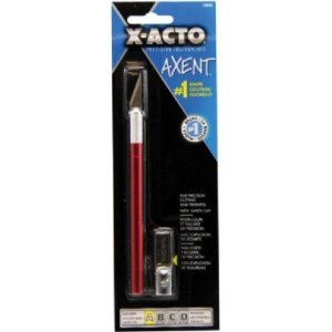 X-Acto® Axent™ No. 1 Knife Red: General Purpose, Knife, (model X-3036), price per each