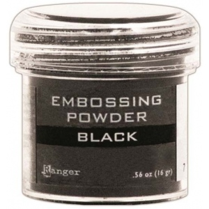 Ranger Basics Embossing Powders: Black