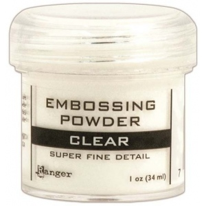 Ranger Basics Embossing Powders: Super Fine Clear