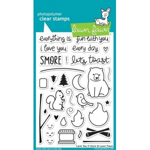 Lawn Fawn Stamp Set: Love You S'More