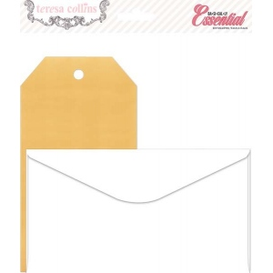 Teresa Collins Designs Basically Essential: Envelope & Tag Pack