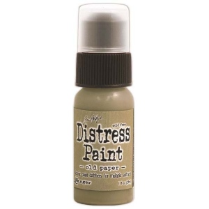 Ranger Tim Holtz Distress Paint: Old Paper