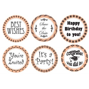Mason Row Party Occasions Stamp Set