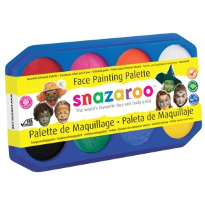 Snazaroo™ Face Painting Palette Kit: Multi, 18 ml, (model 1194040), price per each