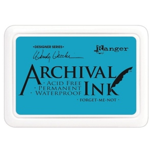 Ranger Wendy Vecchi Archival Ink Pads #0: Forget-Me-Not
