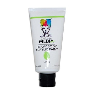 Ranger Dina Wakley Media Heavy Body Acrylic Paints: Lime