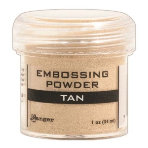 Ranger Opaque/Shiny Embossing Powders: Tan