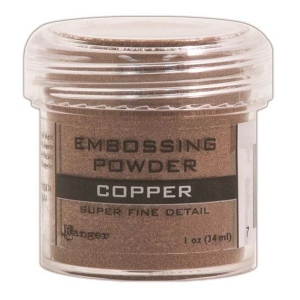 Ranger Opaque/Shiny Embossing Powders: Super Fine Copper