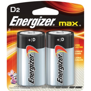Energizer MAX® D Battery 2pk