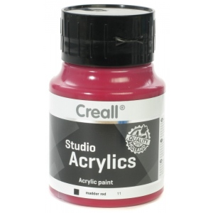 American Educational Creall Studio Acrylics: 500 ml, 11 Madder Red