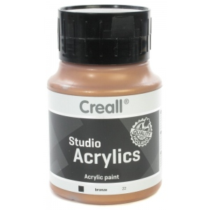 American Educational Creall Studio Acrylics: 500 ml, 22 Bronze