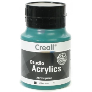 American Educational Creall Studio Acrylics: 500 ml, 52 Phtalo Green