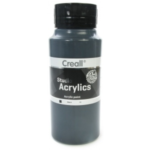 American Educational Creall Studio Acrylics: 1000 ml, 99 Black