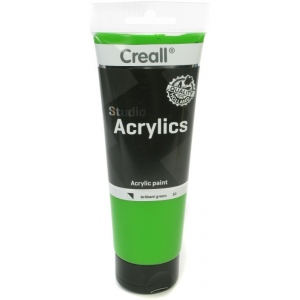 American Educational Creall Studio Acrylics Tube: 250 ml, 50 Brilliant Green