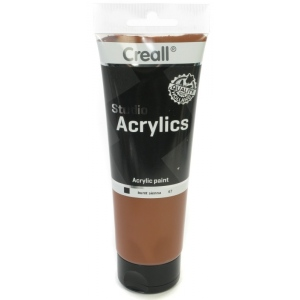 American Educational Creall Studio Acrylics Tube: 250 ml, 67 Burnt Sienna