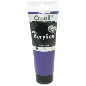 American Educational Creall Studio Acrylics Tube: 120 ml, 25 Violet