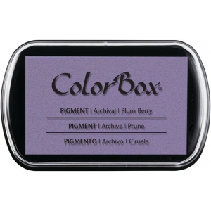 ColorBox® Full Size Pigment Ink Pad Plum Berry: Purple, Pad, Pigment, Full Size Rectangle, (model CS15198), price per each